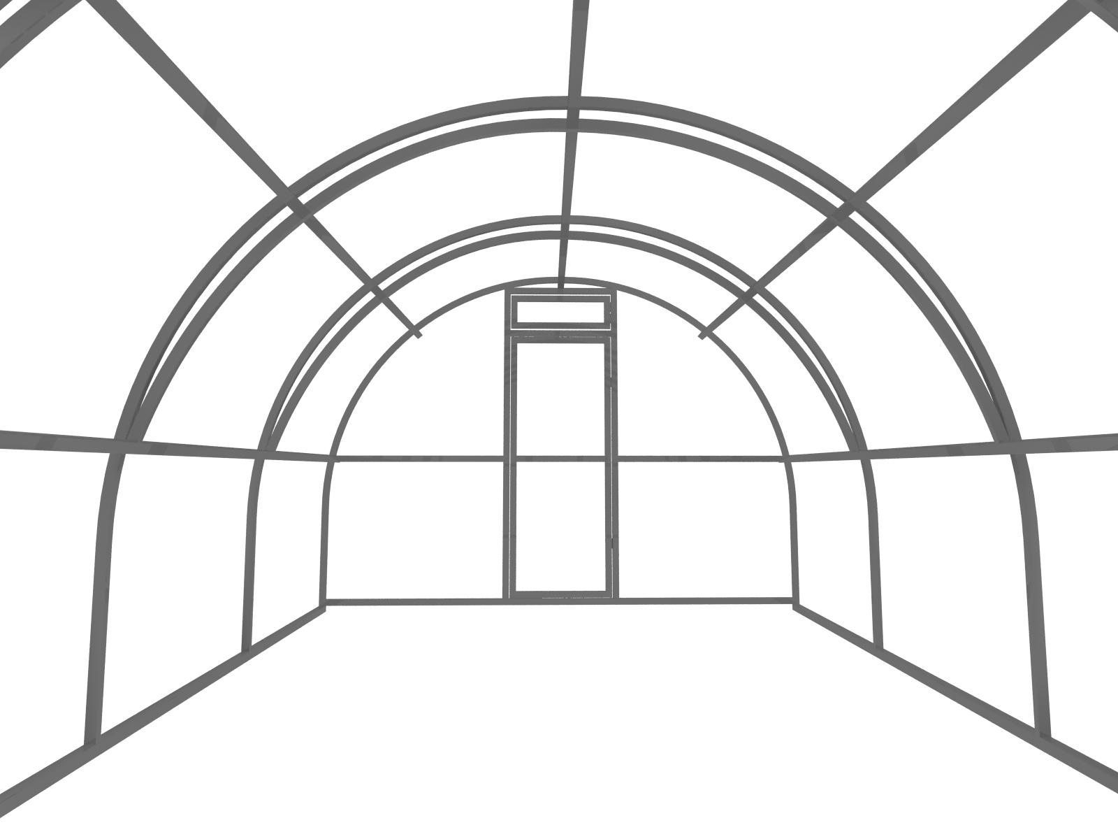 схема сборки теплицы новатор из поликарбоната