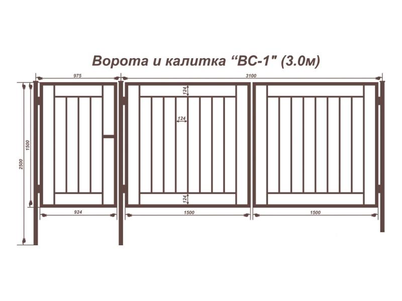 Образцы ворот с калиткой для дачи ворота распашные металлические нижний тагил цена